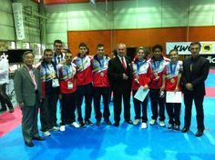 Parataekwondo - Mundial - Alex Vidal Campeón del Mundo Parataekwondo