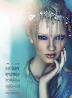 Into The Deep | Meagan Callen | Chris Nicholls #photography | Flare June 2012