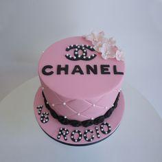 Chanel cake, pink cake