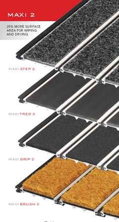 Entrance Mat profiles have been architecturally designed that will provide protection against the intrusion of corrosive grit, moisture into your building.