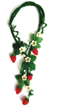Beaded jewelry by Elina Ivanova