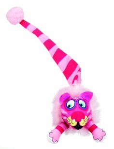 Bamboo Pet CAM650074 Fat Cat Kitty Hoots Tail Chaser Catnip Toy, Multicolor -- Click image for more details.