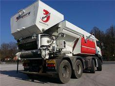 Karner & Dechow Industrie Auktionen - 4-Achs LKW MAN TGA 37.430 mit Betonmischanlagenaufbau Kimera K55, - Postendetails