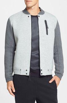 Nike 'Tech Varsity' Jacket   Nordstrom