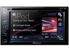 "DVD Automotivo Pioneer AVH-288BT - Tela 6,2"" Bluetooth USB Entrada Auxiliar com…"
