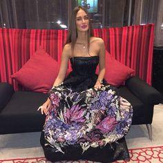 Amina Allam - Georges Mak Evening Gown - Feeling like Cinderella