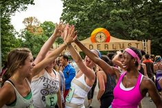 """Win a special Wanderlust 108 Toronto prize pack including tickets to Toronto's first """"mindful triathlon"""" on June Wanderlust Festival, Wanderlust Yoga, Yoga Festival, Pumpkin Chocolate Chip Bread, Now Magazine, Good Cause, Yoga Meditation, Triathlon, Nashville"""