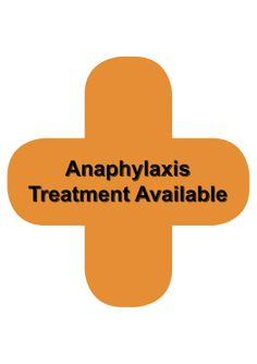 An orange cross logo like this will be displayed in a pharmacy's window to show the availability of emergency assistance.