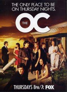 The OC, 2003. Mischa Barton, Rachel Bilson & Adam Brody. Cancelled after 4 seasons, the show was centered around a close knit group of people in a wealthy neighborhood in Newport Beach. The show hit a low point after Mischa Barton's character (Marissa Cooper) was killed off. The music of the show brought many bands to light such as Rooney, Youth Group and Death Cab for Cutie. It was hailed as a Mixtaper's dream by EW.