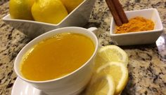 Warm Water & Lemon With A Turmeric Twist