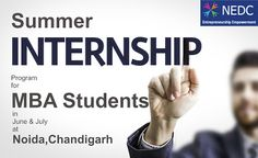 NEDC: Summer #internship program in #HR for #MBA student...