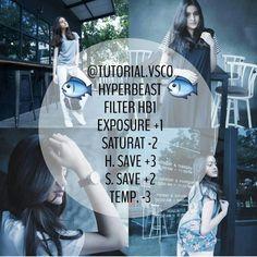 Hyperbeast blue filter vsco cam // follow @vsco_the_tutor on instagram