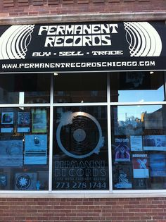 Permanent Records, Chicago. Love this store.