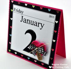 Day Calendar Birthday Card : Gallery : A Cherry On Top