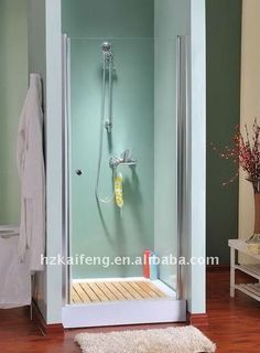 small shower for basement