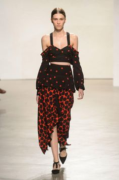 A look from the Proenza Schouler spring 2016 collection. Photo: Imaxtree