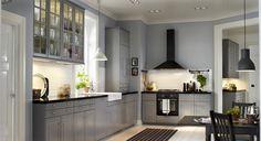 Nieuwe keukens van Ikea: Keukensystemen Metod #keukens #landelijk #ikea