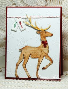 Stamping with Klass: Merry Monday Reindeer