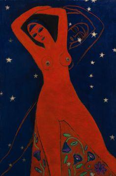 "barcarole:  ""Leila, Kees van Dongen, ca. 1908-1910.  """