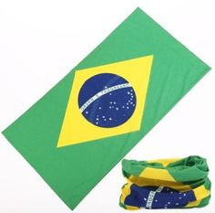 Custom Design Brazil Flag Printed Multifunctional Buff Football Cheering Headwear on Made-in-China.com