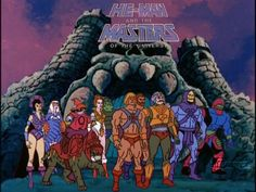 He-Man, She-Ra and Masters of the Universe!