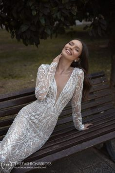 Eden Aharon Loverbird 2020 Spring Bridal Collection – The FashionBrides Gowns With Sleeves, Bridal Collection, Wedding Gowns, Spring, Fashion, Wedding Frocks, Moda, Bridal Gowns, Sleeve Dresses