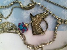 Horse jewelry Horse racing Horse necklace Equestrian Equestrian Jewelry, Horse Jewelry, Animal Jewelry, Funky Jewelry, Unusual Jewelry, Handmade Jewelry, Horse Necklace, Cowgirl Bling, Vintage Horse