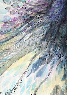 Cascade #watercolorarts