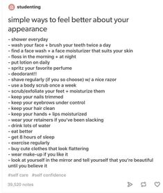 Astonishing Mindset Healthy Weight Check Up Ideas. Ineffable Mindset Healthy Weight Check Up Ideas. Dermatillomania, Vie Motivation, Check Up, Glow Up Tips, All Meme, Self Care Activities, Self Improvement Tips, Self Care Routine, Better Life