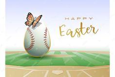 Easter Illustration, Graphic Illustration, Illustrations, Baseball Card Boxes, Baseball Cards, Baseball Pictures, Japanese Cartoon, Sport, Journal Cards
