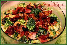 Sweet Tea and Cornbread: Sunshine Broccoli Salad!