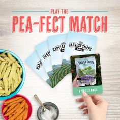 I played Memory Game for a chance to win FREE SNAPS, and you can too! Play now! Harvest Snaps, Baby Food Recipes, Cooking Recipes, Sweet And Low, Instant Win Games, Gluten Free Snacks, Giveaway, Yummy Food