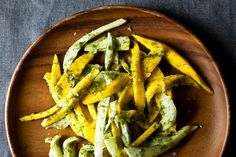 Mango Salad with Fennel Frond Pesto. This is a surprising and unexpected combination of ingredients for a salad. It's light and fresh, yet substantial enough to be served as a vegetarian meal, or as side dish with a piece of fish or chicken. Get the recipe.