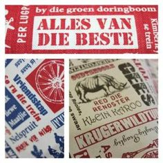 Designery_Afrikaanse_lap_Alles_van_die_beste5 (Small) Printing On Fabric, Van, African, Cool Stuff, Ethnic, Blog, Inspiration, Ideas, Biblical Inspiration