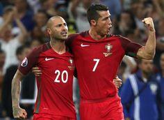 Futebol, família e alegria na festa de Portugal