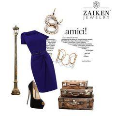 Dress elegantly!   http://zaikenjewelry.com/