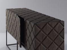 TIBERIO Sideboard - design Ferruccio Laviani - www. Cabinet Furniture, Plywood Furniture, Home Decor Furniture, Luxury Furniture, Cool Furniture, Painted Furniture, Modern Furniture, Furniture Design, Sideboard Cabinet