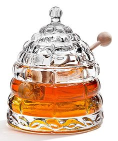 Take a look at this Beehive Crystal Honey Jar by Godinger on #zulily today!