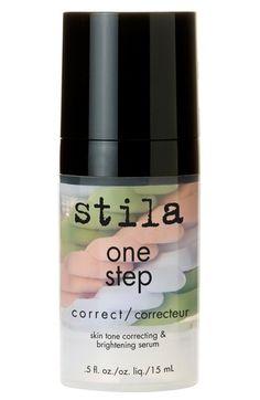 stila 'one step correct' skin tone correcting & brightening serum available…