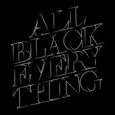 Creative Inspiration, Type, Typography, and North image ideas & inspiration on Designspiration Typography Served, Typography Letters, Lettering, Fade To Black, Black And White, North Design, Black Quotes, Pretty Girl Swag, All Black Everything
