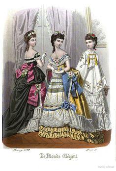 Le Monde Elégant 1873 January