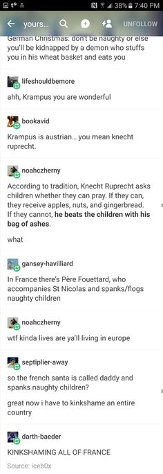 Tumblr funny krampus Santa