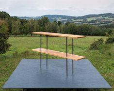 / oak shelf with legs made of steel pipes / ⠀⠀⠀⠀⠀⠀⠀⠀⠀ #dubahardwood #Czechdesign #woodworkshop #steelpipes #oakshelf #oakfurniture #woodwork #woodproduct Oak Shelves, Woodworking Shop, Pipes, Solid Wood, Hardwood, Shelf, Legs, Furniture, Instagram