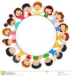 Multidão De Desenhos Animados Das Crianças Com Espaço Vazio - Baixe conteúdos de Alta Qualidade entre mais de 55 Milhões de Fotos de Stock, Imagens e Vectores. Registe-se GRATUITAMENTE hoje. Imagem: 49366805