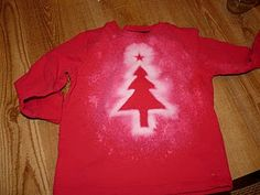 Quick & Easy Shirt: Would make something other than an xmas motif!