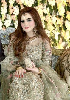 Bride on her baat paaki