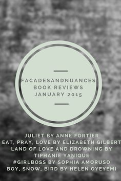 January 2015 Book Reviews