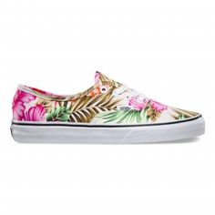 #vans #authentic #Hawaiian #Floral #print #summer #2015