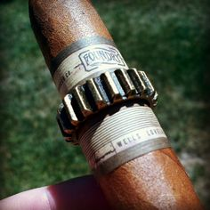 The band on the new Foundry Cigar is pretty epic! Video review will be up next week!