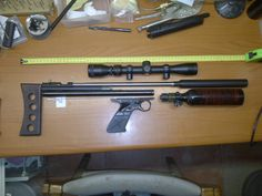 Homemade Weapons, Shooting Guns, Concept Weapons, Custom Guns, Air Rifle, Compressed Air, Slingshot, Crossbow, Paintball